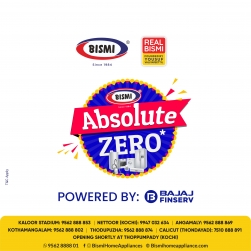 BISMI Absolute Zero Offer   Home Appliances with Zero Down Payment